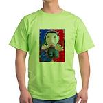 Pop Marc Paul (blu/red) Green T-Shirt