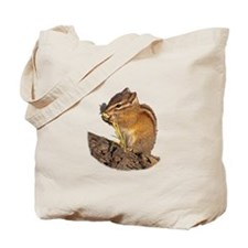 Funny Chipmunk lover Tote Bag