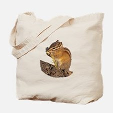 Funny Chipmunk Tote Bag