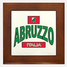 Abruzzo Italy Framed Tile