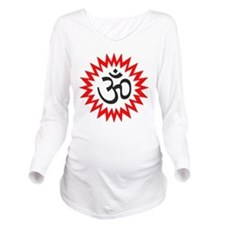 OM Long Sleeve Maternity T-Shirt