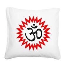 OM Square Canvas Pillow
