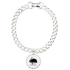 I Heart Silver Martins Bracelet