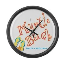 Myrtle Beach - Large Wall Clock