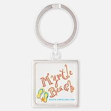 Myrtle Beach - Square Keychain