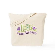 Hope For Lupus Tote Bag
