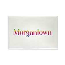 Morgantown Rectangle Magnet