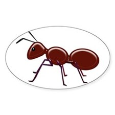 Shiny Brown Ant Decal