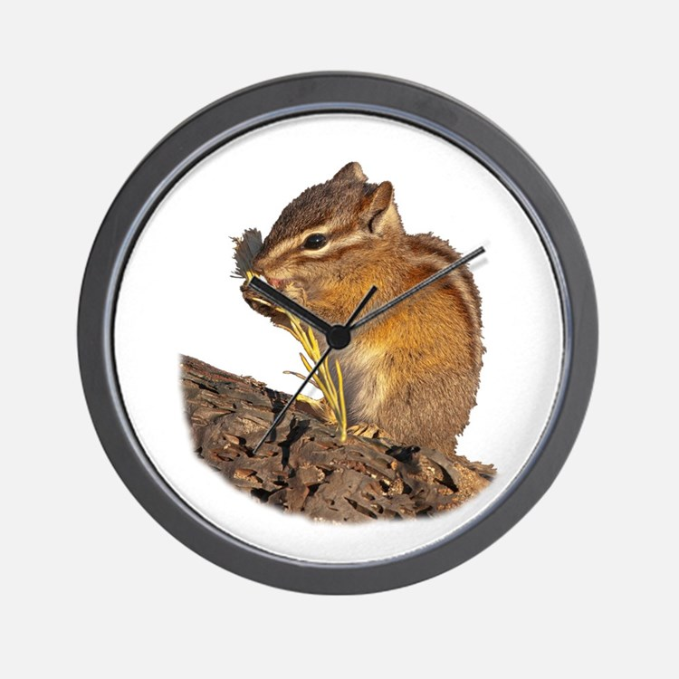 Cute Chipmunk lover Wall Clock