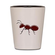Cute Bug Shot Glass