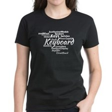 Keyboard Word Cloud T-Shirt