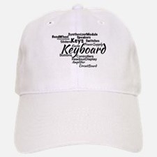 Keyboard Word Cloud Baseball Baseball Baseball Cap