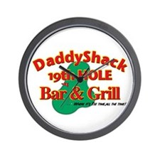 Daddyshack Wall Clock