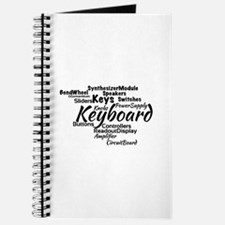 Keyboard Word Cloud Journal