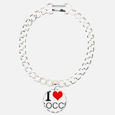 I Love Soccer Bracelet