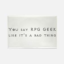 RPG Geek Rectangle Magnet