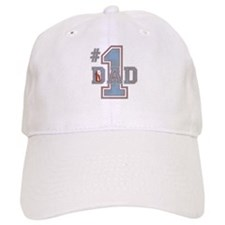Number 1 Dad Baseball Cap