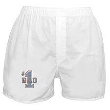 Number 1 Dad Boxer Shorts