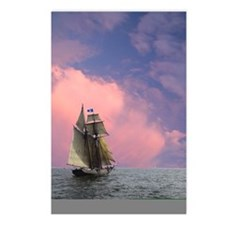 Top-sails flying Postcards (Package of 8)