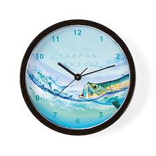 Tarpon Wall Clock