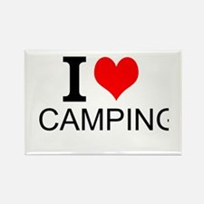 I Love Camping Magnets