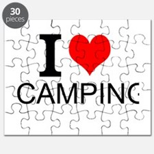 I Love Camping Puzzle