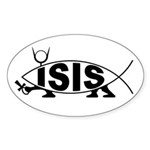 ISIS Oval Sticker