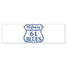 hwy61blues1tran Bumper Bumper Sticker
