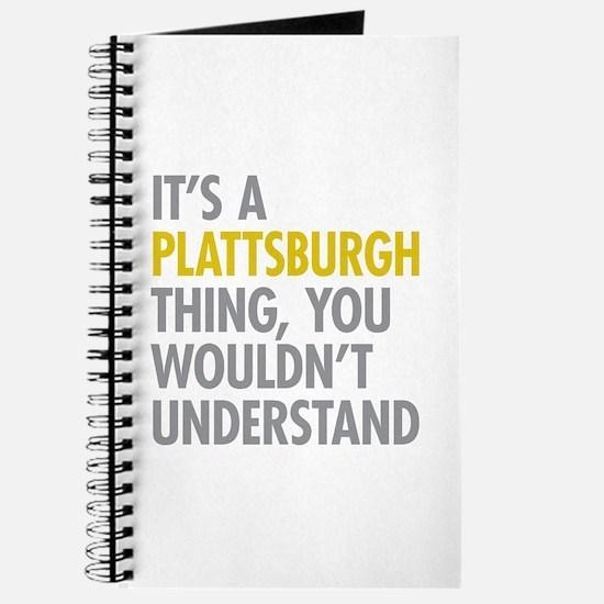 Its A Plattsburgh Thing Journal