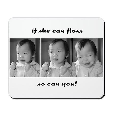 Small Children Can Floss Mousepad