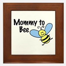 Mommy to Bee... Framed Tile