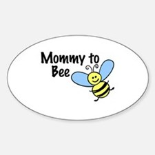 Mommy to Bee... Oval Decal