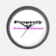 Property of Princess Wall Clock