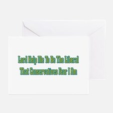 To Be The Liberal Greeting Cards (Pk of 10)