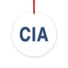 CIA: CIA Ornament (Round)