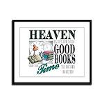 Heaven is.... Framed Panel Print