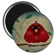 Red Bird Cardinal Magnets