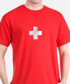 SWISS CROSS FLAG T-Shirt
