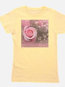 Cute Pink roses Girl's Tee