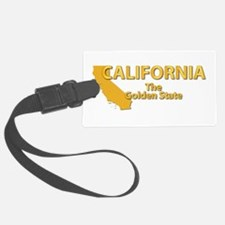 State - California - Gold State Luggage Tag