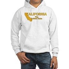 State - California - Gold State Hoodie