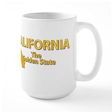 State - California - Gold State Mug
