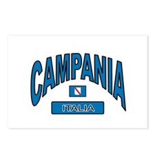 Campania Italy Postcards (Package of 8)