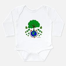 Earth Day Everyday Long Sleeve Infant Bodysuit