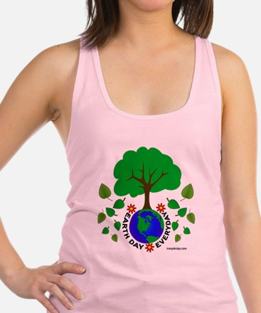 Earth Day Everyday Racerback Tank Top