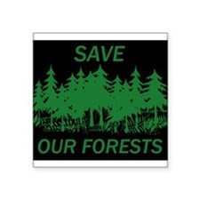 9x7.5_mpad.SAVE FORESTS Sticker