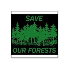 9x7.5_mpad.SAVE FORESTS Sticker