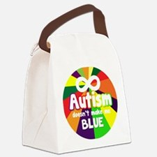 Unique Light up blue Canvas Lunch Bag
