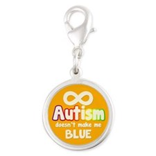 Autism Doesnt Make Me Blue Charms