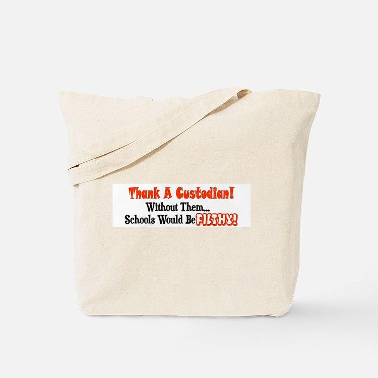 Cute Janitorial Tote Bag